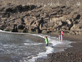 Image of Playa El Pinque Beach with a length of 60 meters. tenerife canaryislands