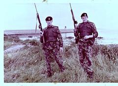 Coldstream Guardsmen, Donaghadee 1970