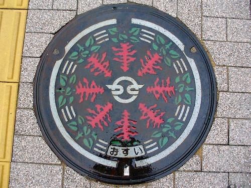 Kasai city, Hyogo pref manhole cover(兵庫県加西市のマンホール)