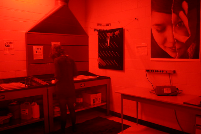 Exposed Darkroom