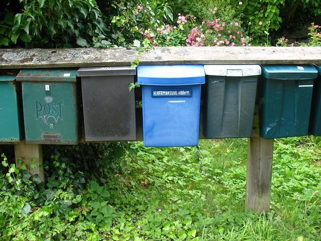 mail boxes, Härön
