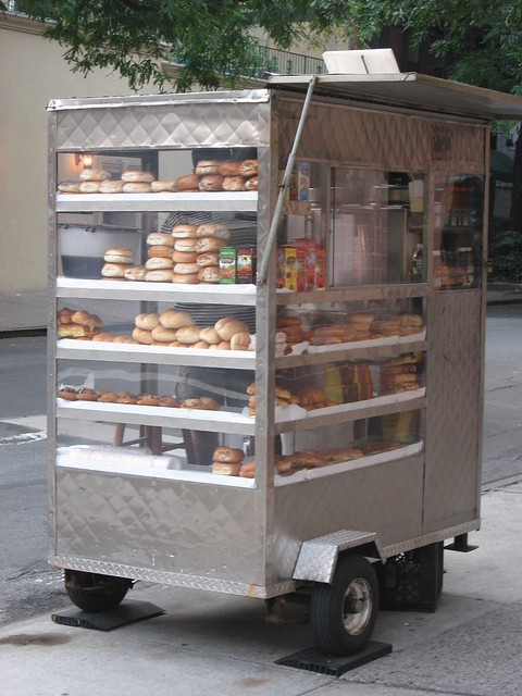 Bagel And Donut Cart Flickr Photo Sharing