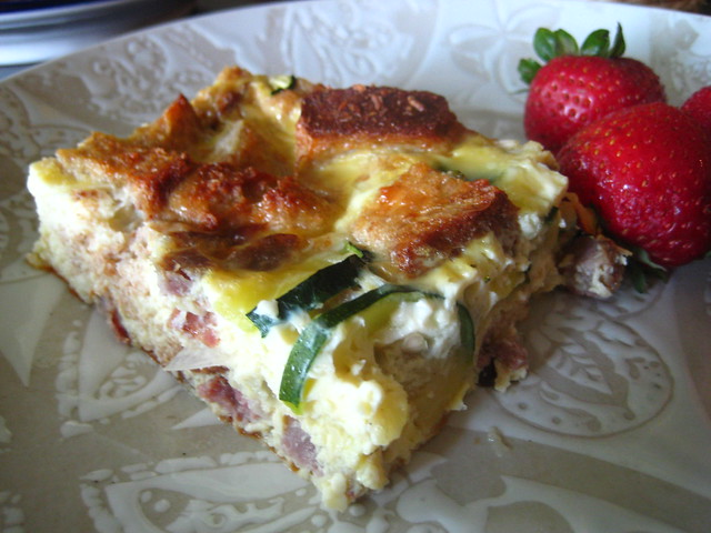 zucchini + sausage breakfast casserole | Flickr - Photo Sharing!