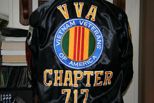 VETERAN'S JACKET-REAR VIEW