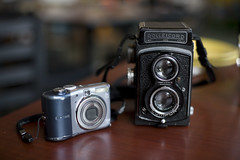 Rolleicord & A1000is by Mr.FoxTalbot
