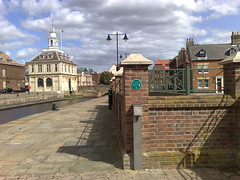 Photo of Hull Warehouse green plaque