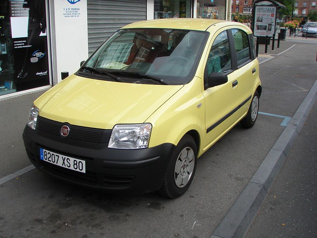 fiat panda jaune flickr photo sharing. Black Bedroom Furniture Sets. Home Design Ideas