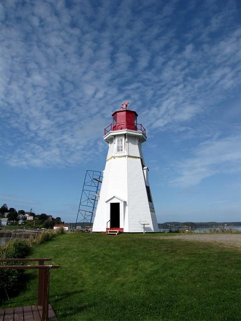 Mulholland Point Lighthouse Campobello Island New