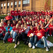 Student Ambassadors were on hand to help throughout the weekend by Bristol UWE