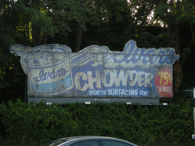 Ivar's underwater billboard
