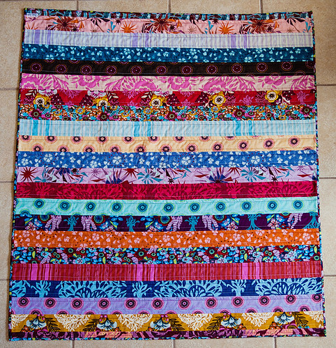 Innocent Crush Strip Quilt