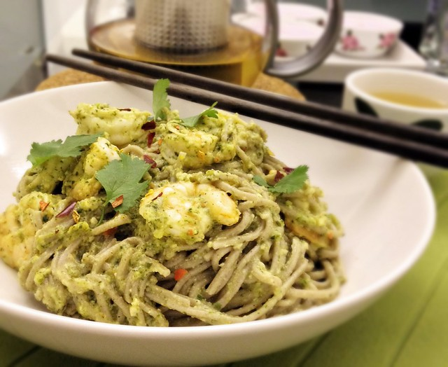 Thai Pesto Prawn Soba