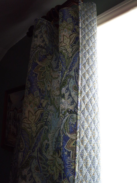Sew Simple Reversible Quilted Curtains Flickr Photo