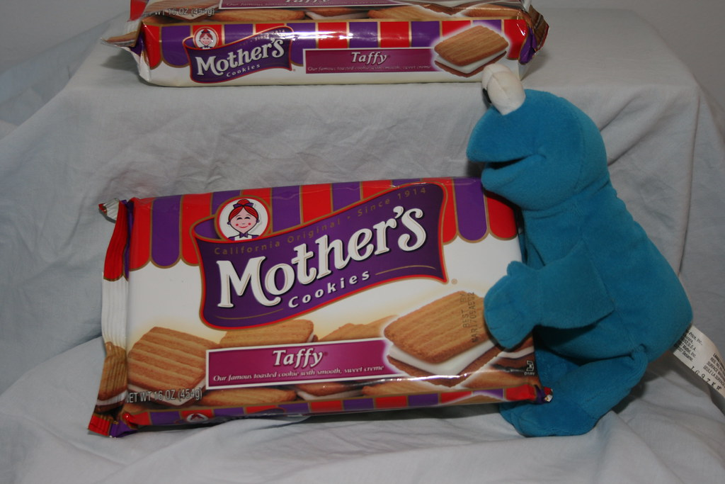 Cookie Monster & Mother's Taffy Cookies