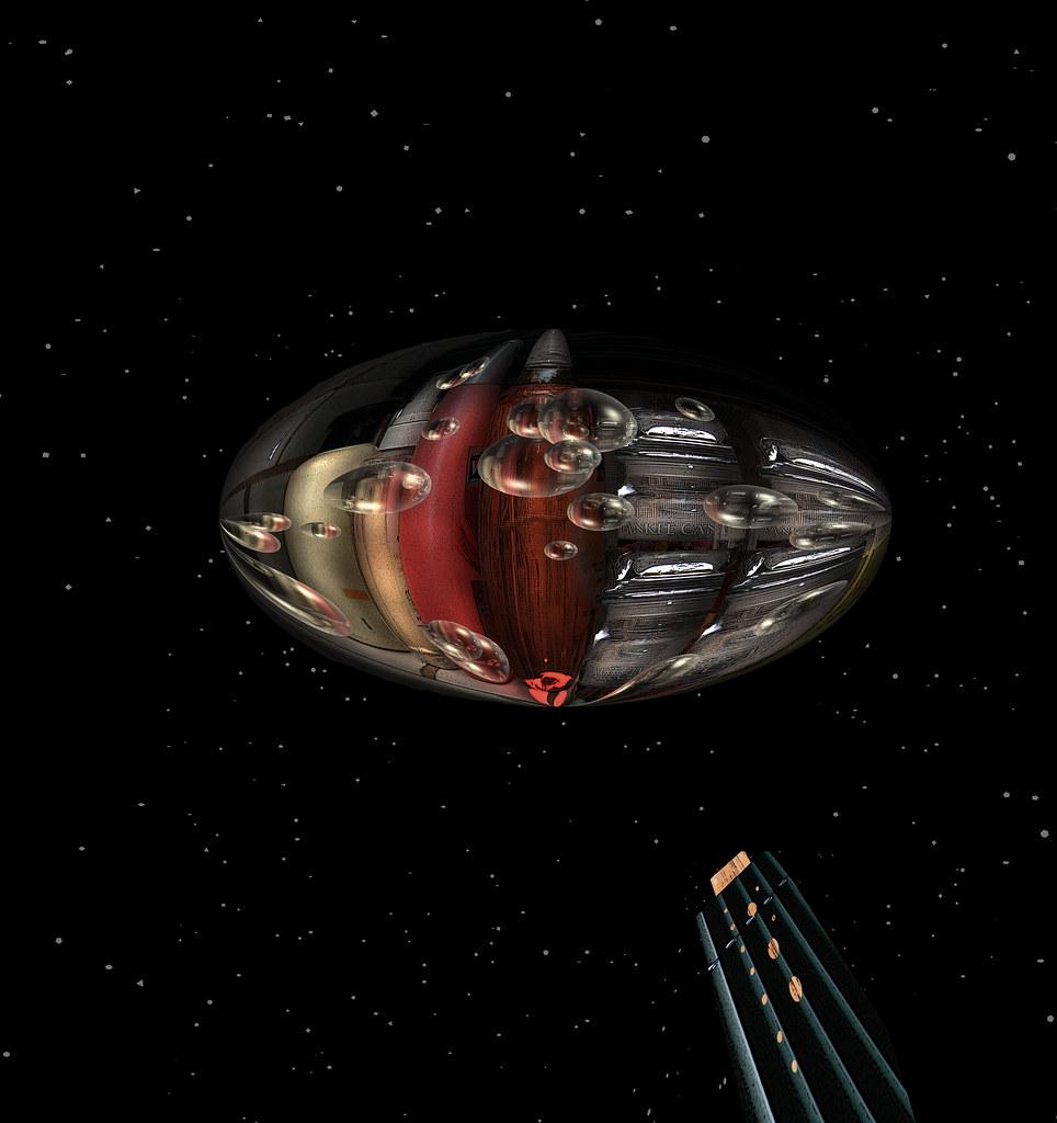 a Savion space port