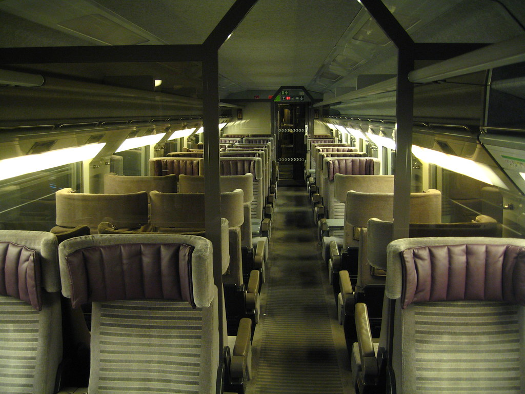 Train Chartering Private First Class Carriage On