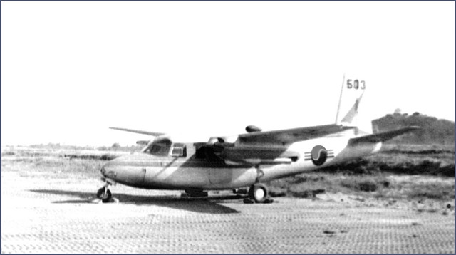 ... Aero Commander - K-18 Kangnung Air Base Korea 1954 - Over 600 Views