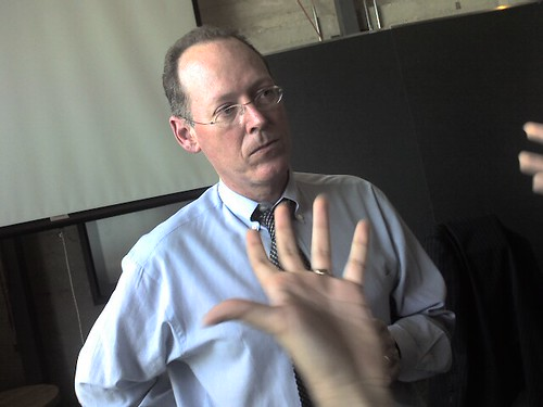Paul Farmer speaks at IDEO by Global X / CC-BY