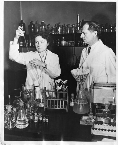 """Gerty Theresa Radnitz Cori (1896-1957) and Carl Ferdinand Cori (1896-1984) by Smithsonian Institution, on Flickr"