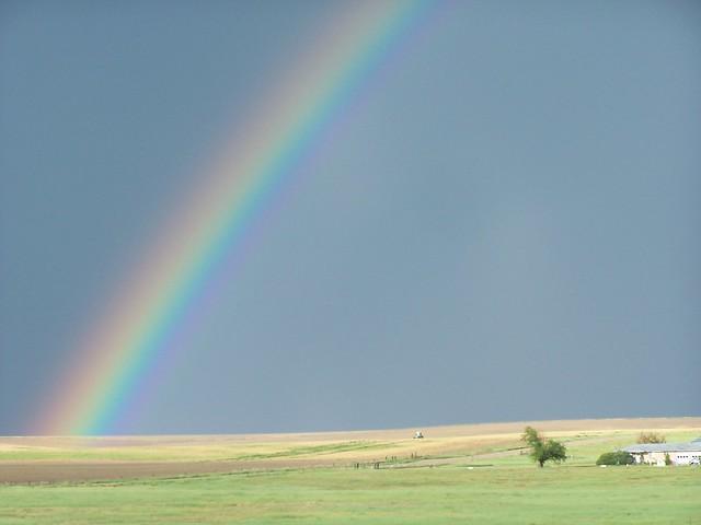rainbow near limon