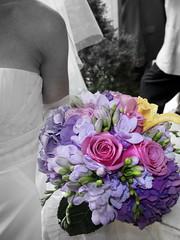 Black rose bridal bouquet, Bridal Bouquet