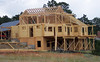Kershenstein Log Home Trusses