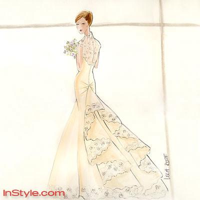 See Eva Amurri's Gorgeous Lela Rose Wedding Dress! - Yahoo! omg!