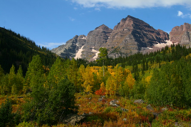 Maroon bells near aspen beautiful rocky mountain scenery flickr photo sharing - Beautiful panoramic view house to take full advantage of the scenery ...
