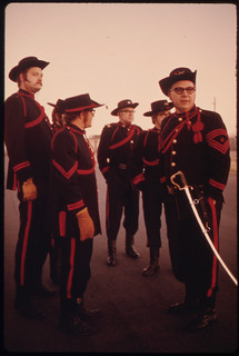 Members of the New Ulm Battery, a Heritage of the German Community of New Ulm, Minnesota ..., 11/1974