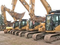 Caterpillar b/a excavators