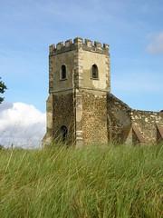 Old All Saints Church, Segenhoe, near Ridgmont, Bedfordshire.