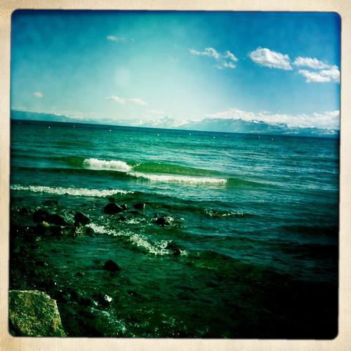 water waves tahoe wave laketahoe hipstamatic