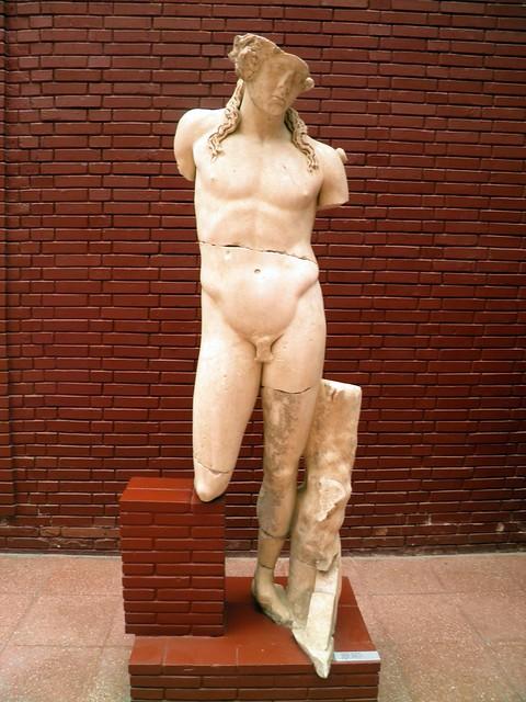 Statue of Dionysus/Bacchus (150/200 AD), Ephesus Museum, Selçuk, Turkey