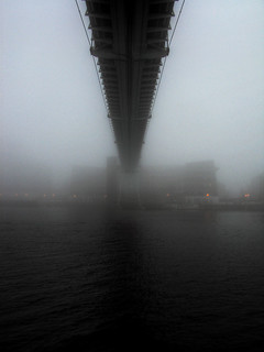 Foggy Again - Royal Victoria Dock Bridge