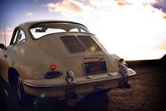 volkswagen beetle(0.0), automobile(1.0), vehicle(1.0), automotive design(1.0), porsche 356(1.0), porsche(1.0), subcompact car(1.0), bumper(1.0), antique car(1.0), vintage car(1.0), land vehicle(1.0), sports car(1.0),