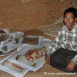 Burmese Sand Paintings - Bagan, Burma