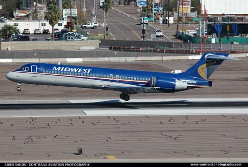Midwest B717 N902ME