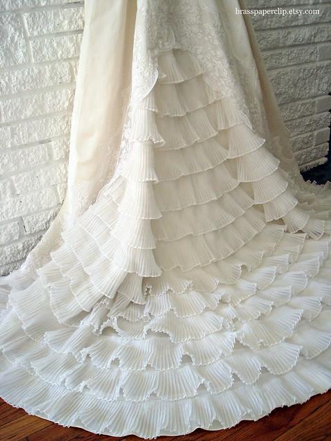 Vintage William Cahill Wedding Gown