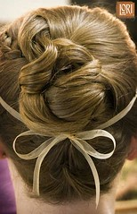 french braid(0.0), hair coloring(0.0), hairstyle(1.0), chignon(1.0), brown(1.0), bun(1.0), hair(1.0), brown hair(1.0), braid(1.0),