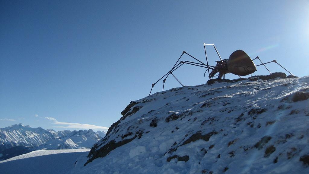 Esculturas en la nieve