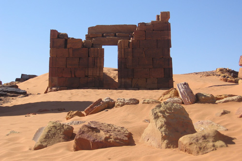 The ruins of ancient structures in Sudan. The civilization extends back over 6,000 years in this region of Africa. by Pan-African News Wire File Photos