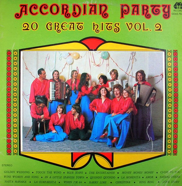 'Accordian Party' - Shirley Watts Accordian Band