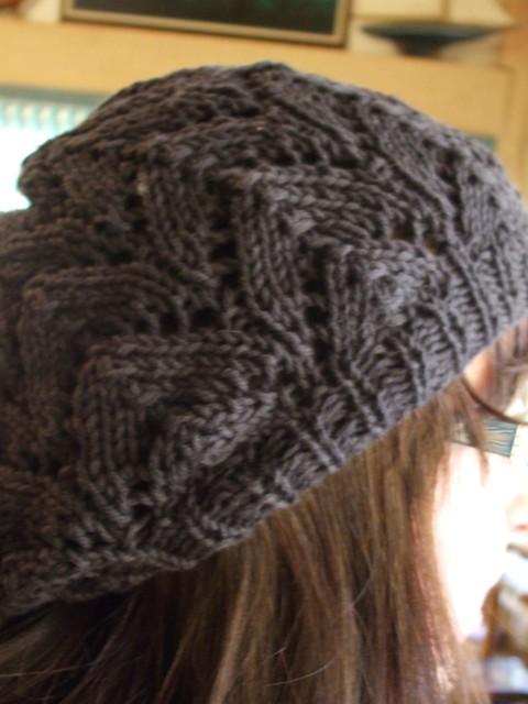 Spring Beret Knitting Pattern : Spring Beret Flickr - Photo Sharing!