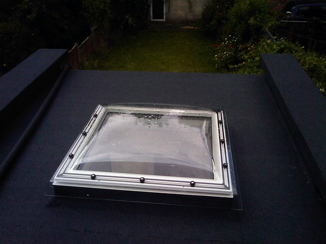 Velux Skylight Dome On Flat Roof Flickr Photo Sharing