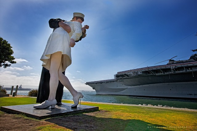 "San Diego - ""Unconditional Surrender"""