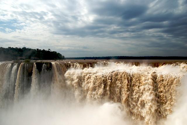 Garganta del Diablo. Cataratas del Iguazú