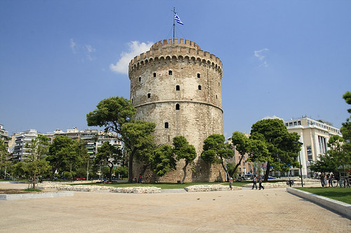 Thessaloniki / Saloniki  / Grecja 2009 / White Tower