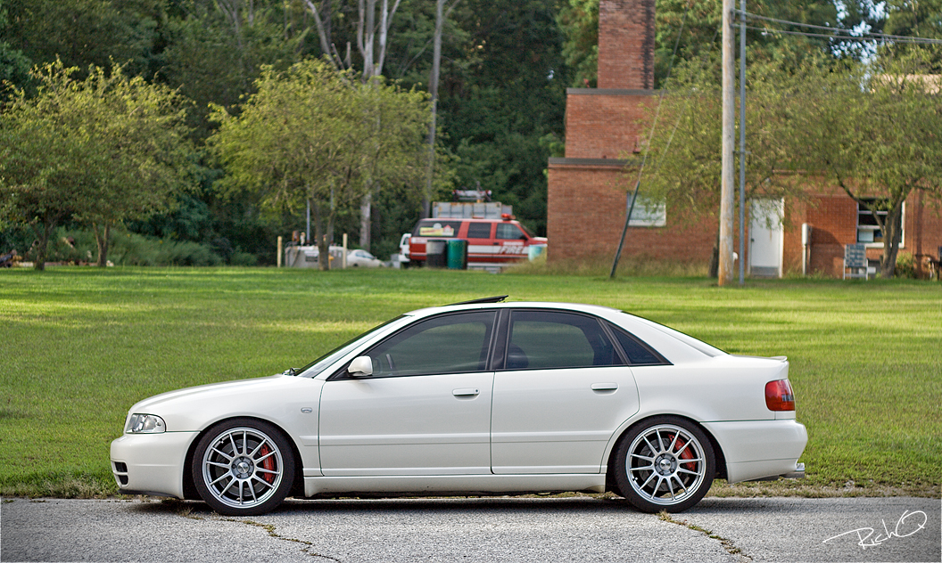 Please Post Pics Of Your B5 S With Any Oz Wheels