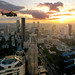 Navy Helicopter flying over Bangkok by B℮n