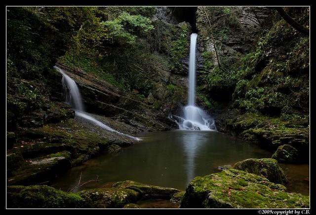 Margorabbia falls